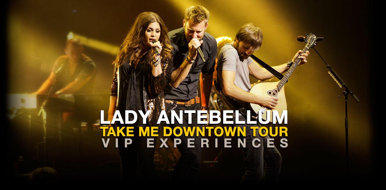 Lady Antebellum Take Me Downtown Tour 2014