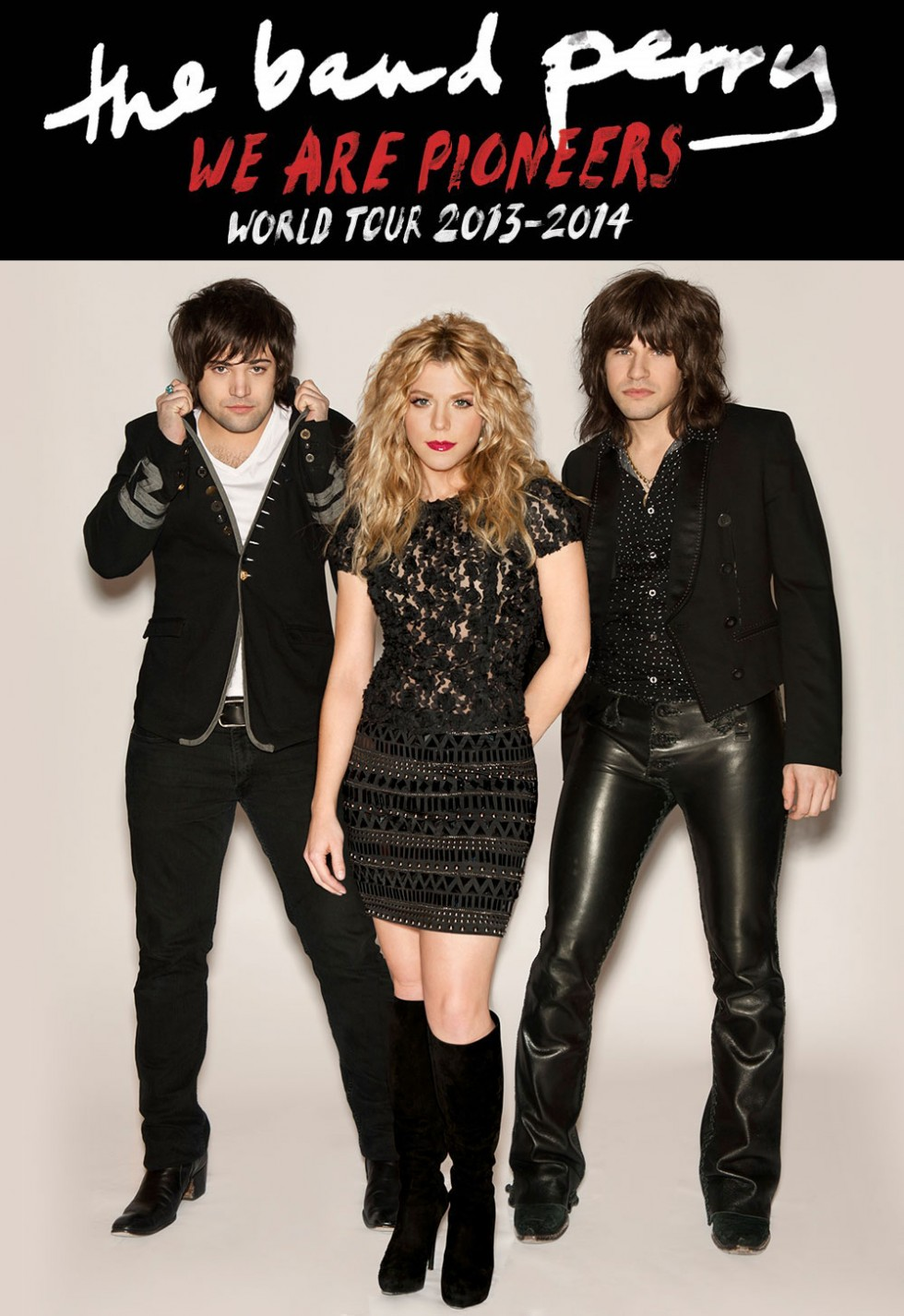 The Band Perry We Are Pioneers Tour 2014