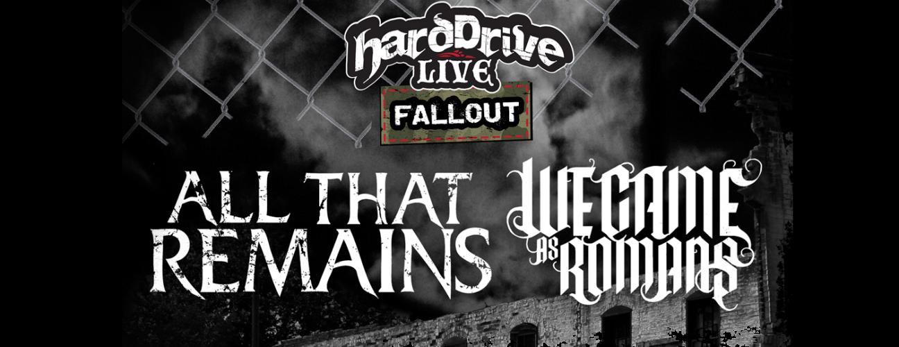 HardDrive Live Fallout Tour 2015