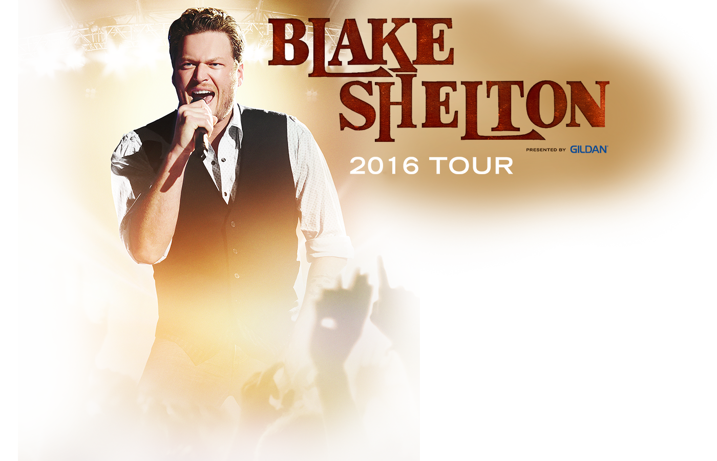 Blake shelton presented by gildan tour cid entertainment blake shelton presented by gildan tour kristyandbryce Image collections