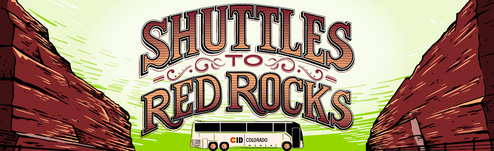 CID Colorado Shuttles to Red Rocks 2016