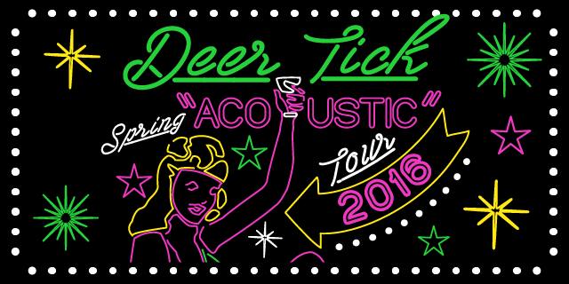 Deer Tick Acoustic Spring Tour