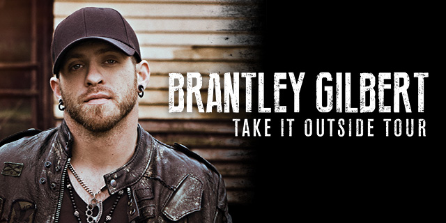 Brantley Gilbert Take it Outside Tour 2016