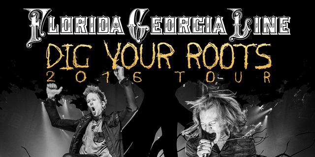 Florida Georgia Line Dig Your Roots Tour 2016
