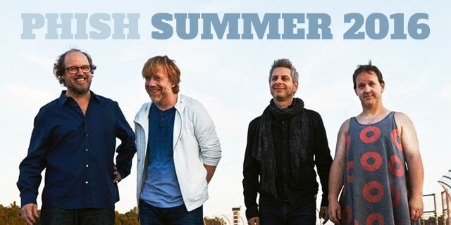 Phish Summer 2016