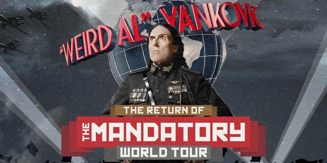 Weird Al Mandatory Tour 2016