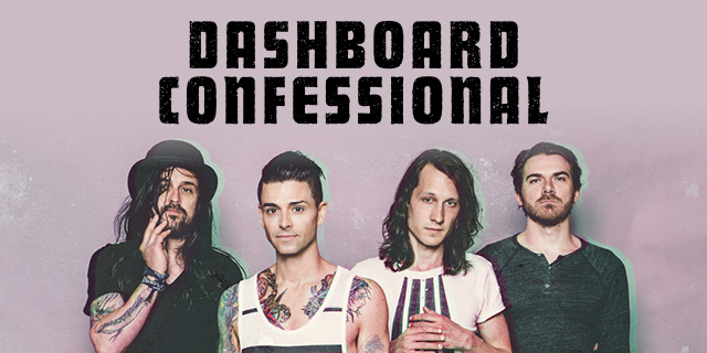 Dashboard Confessional 2016 Tour