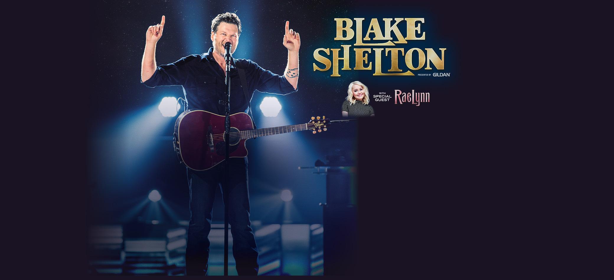 Blake Shelton Gildan Tour