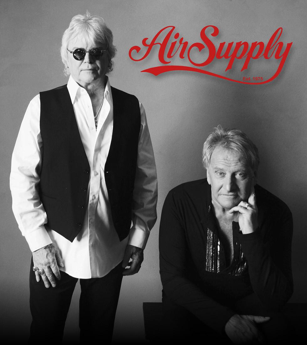 Air Supply Tour 2017