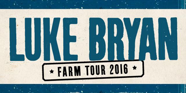 Luke Bryan Farm Tour 2016
