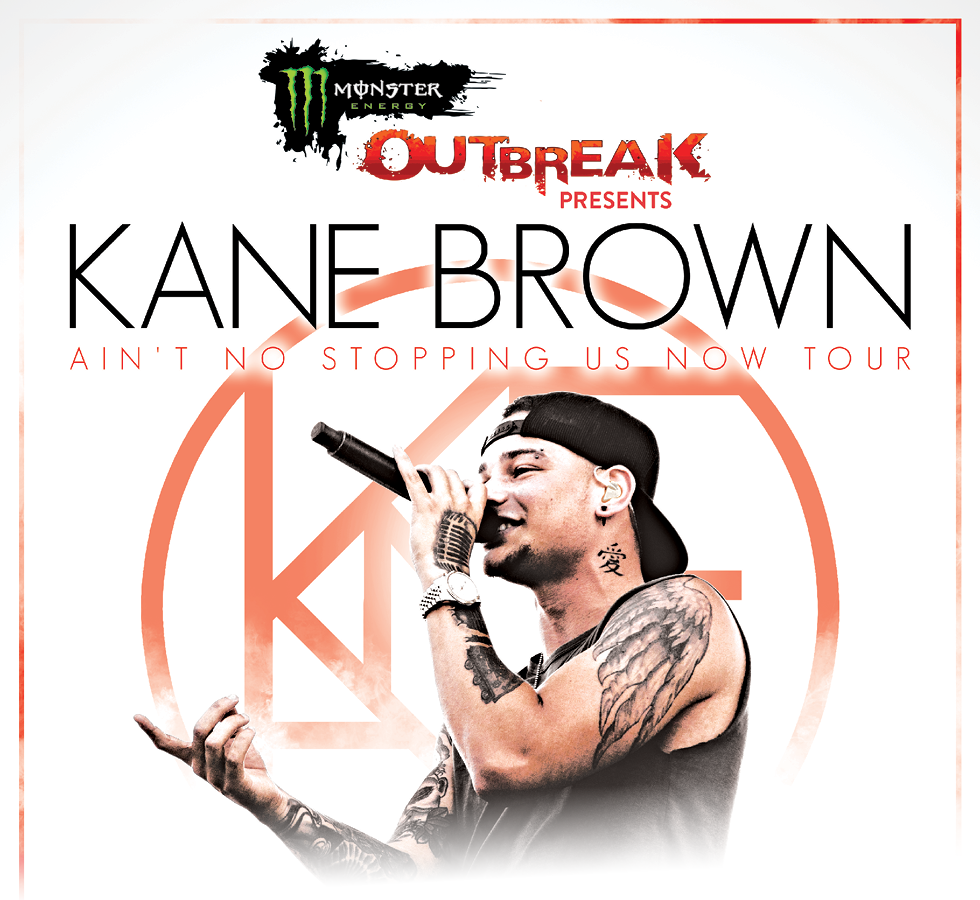 Kane Brown Ain't No Stopping Us Now Tour