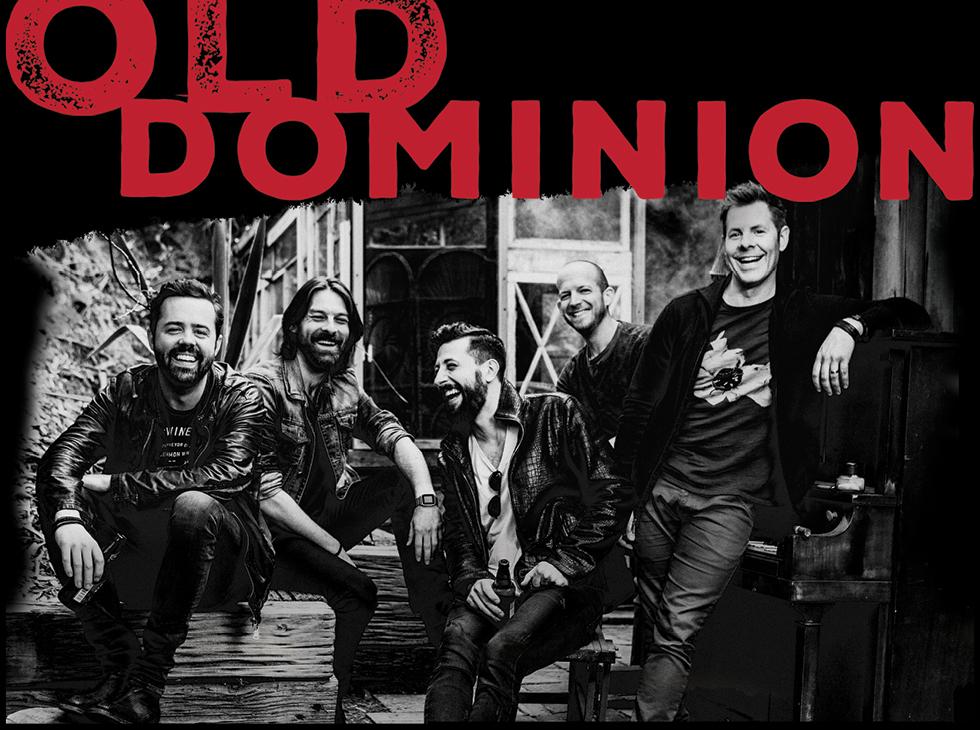 Old Dominion Tour 2017