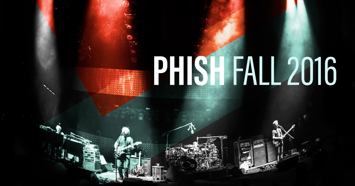 Phish halloween 2016 travel packages cid entertainment for 17th floor concert schedule