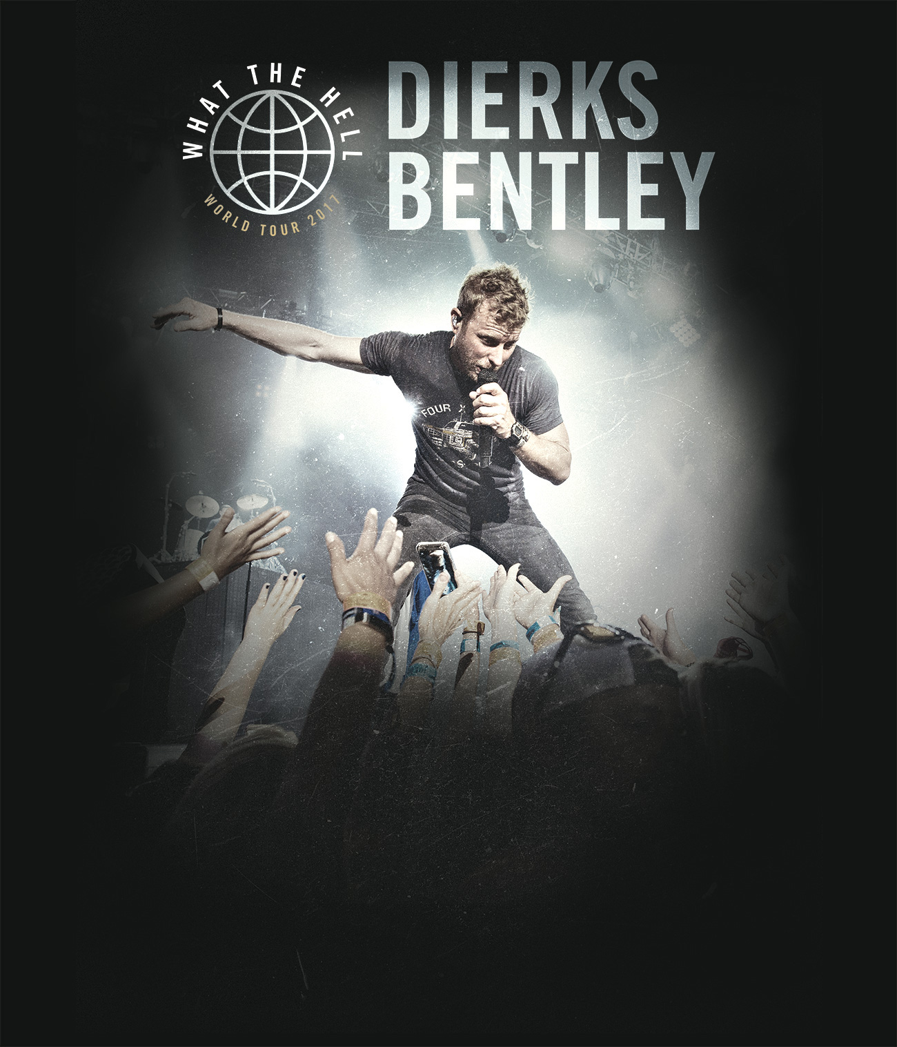 Dierks Bentley 'What The Hell World Tour' 2017