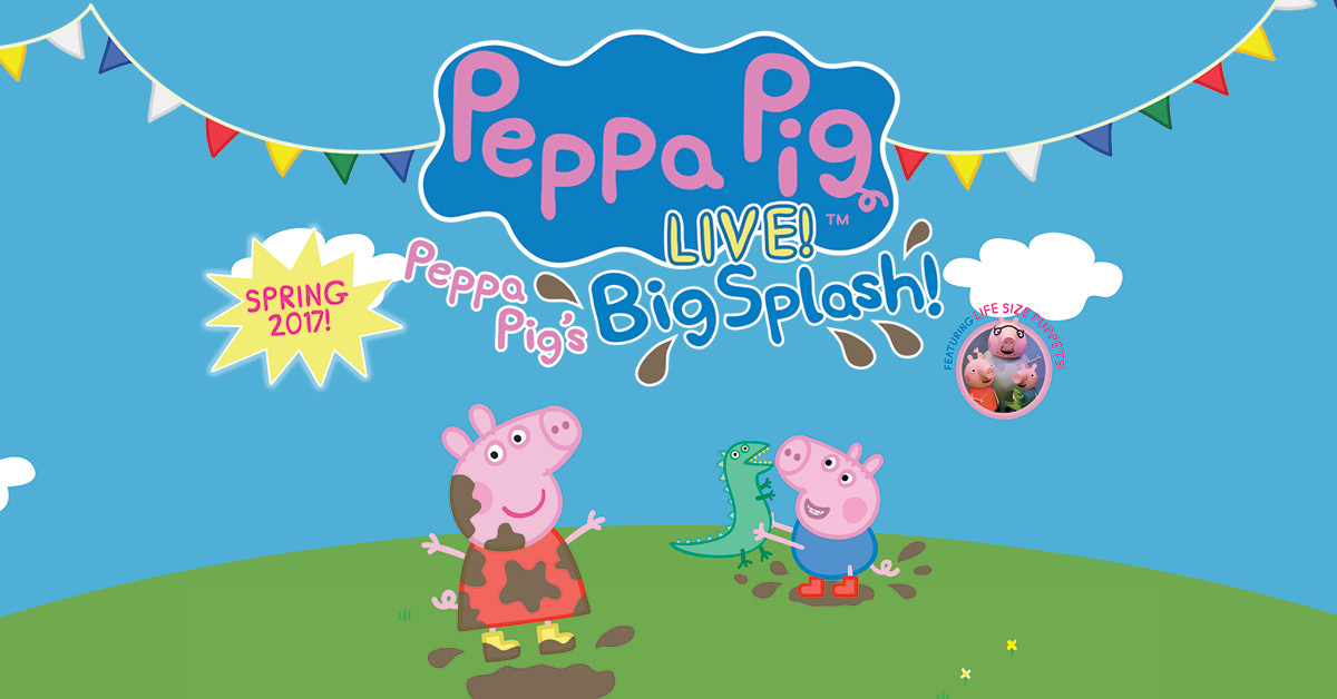 Peppa Pig Live Party Pass Us Amp Canada 2017