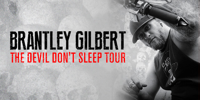 Brantley Gilbert Devil Don't Sleep Tour