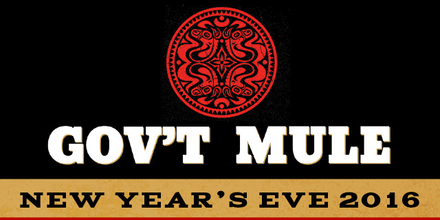 Gov't Mule New Year's Eve 2016