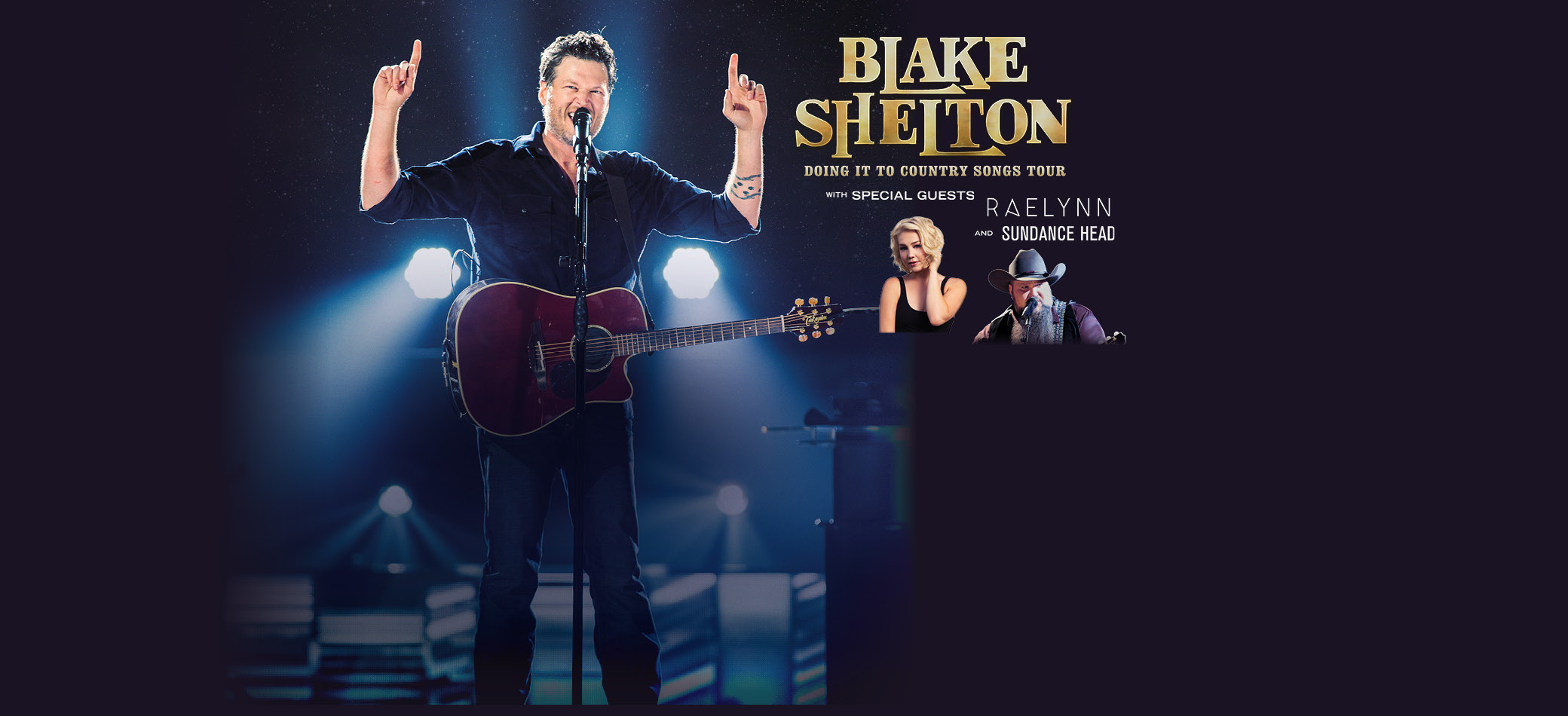 Blake shelton vip experiences blake shelton doing it to country songs tour 2017 kristyandbryce Image collections