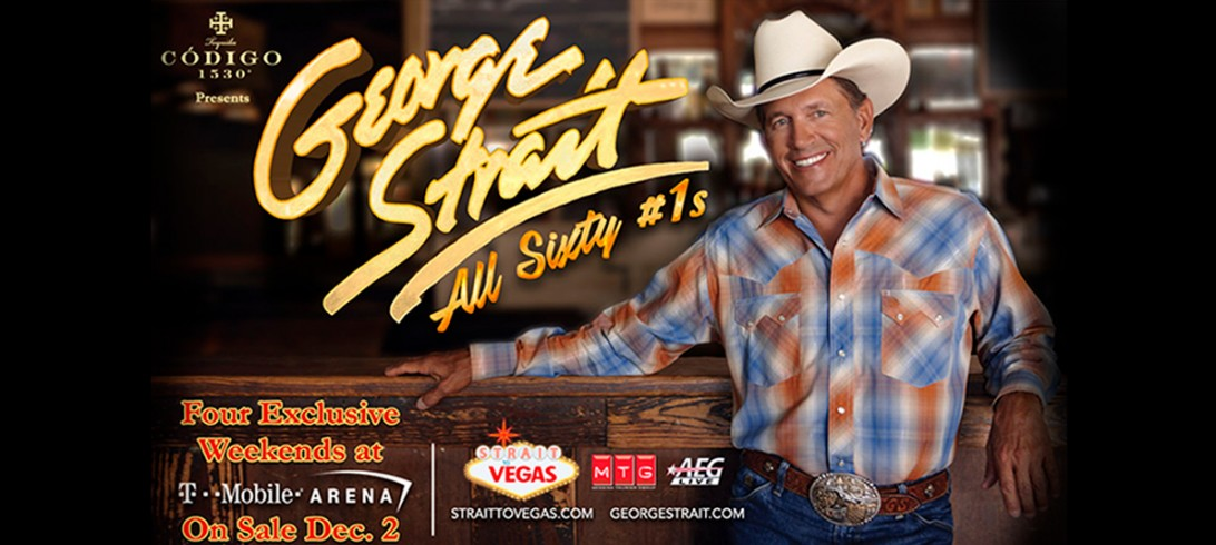 Strait to Vegas 2 Nights of Number 1's