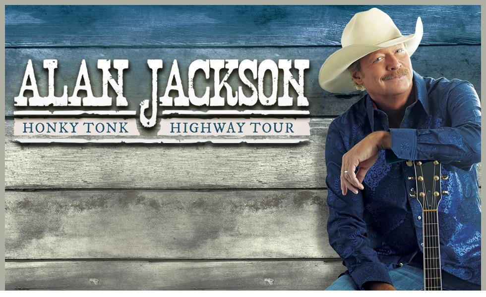 Alan Jackson Honky Tonk Highway Tour 2018