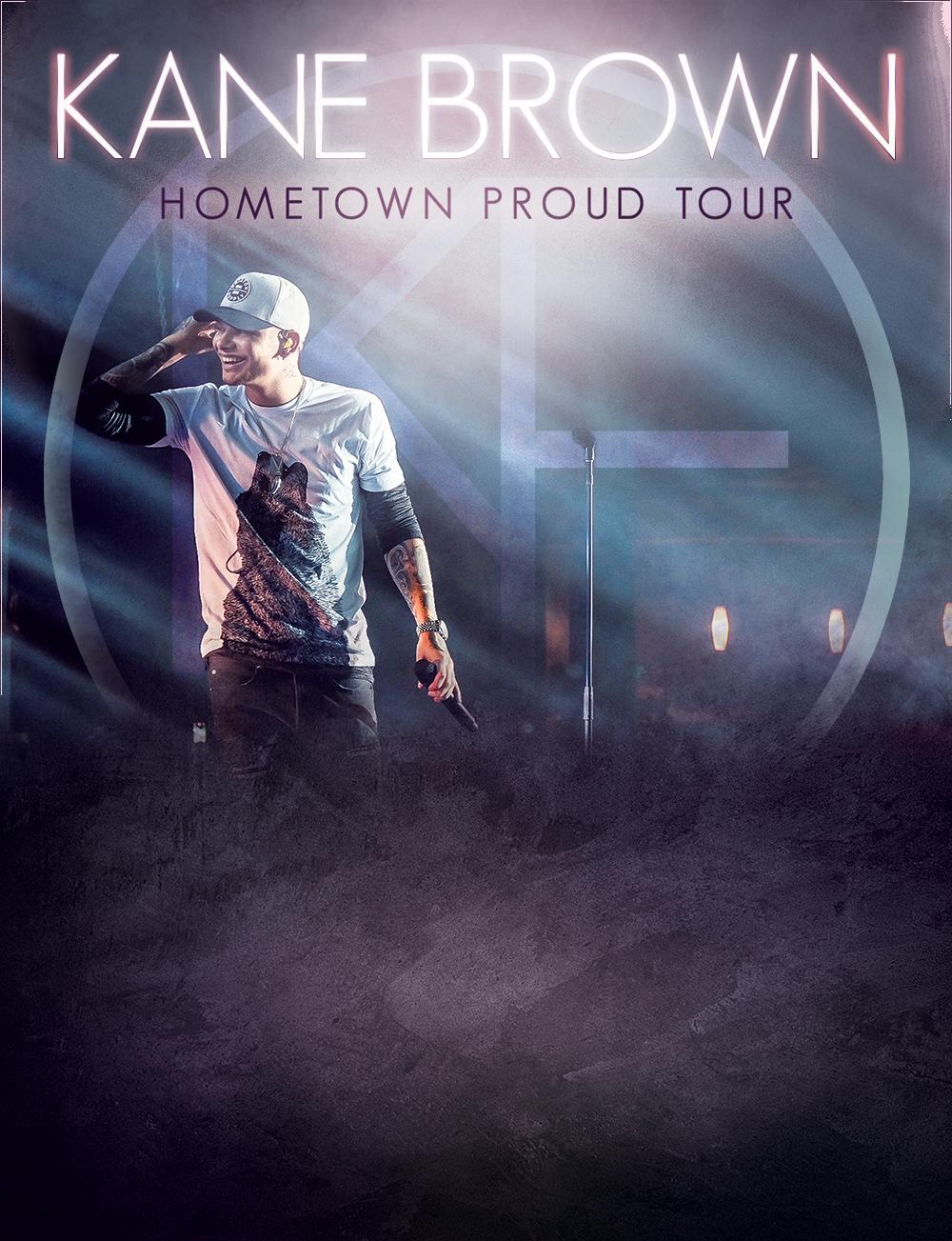 Kane Brown Hometown Proud Tour 2017