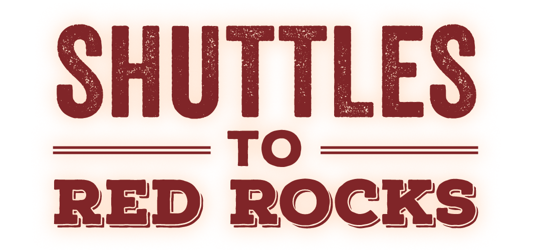 Shuttles to Red Rocks 2017