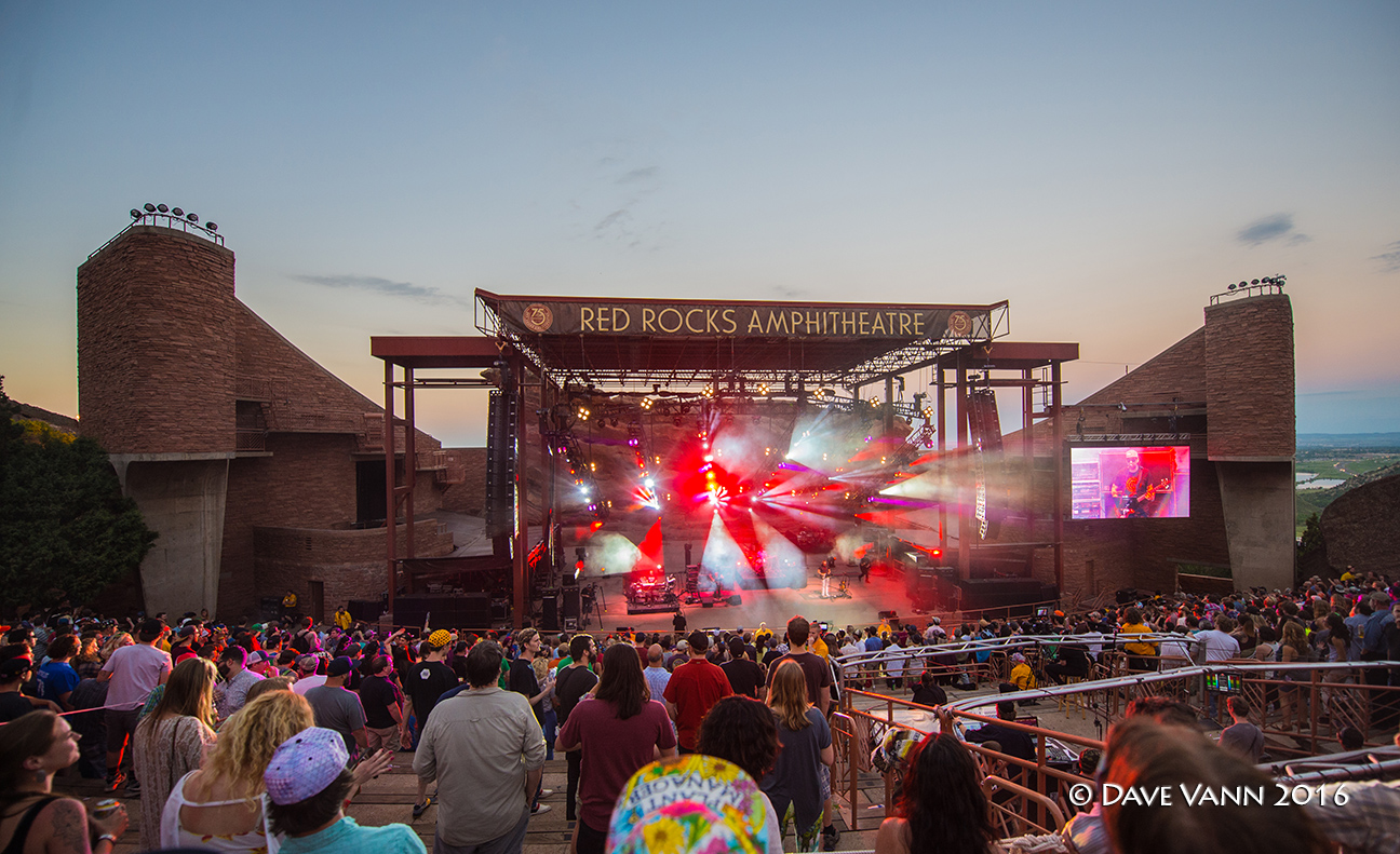 The Disco Biscuits At Red Rocks Experience
