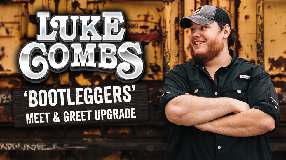 Luke Combs Meet & Greet Upgrades