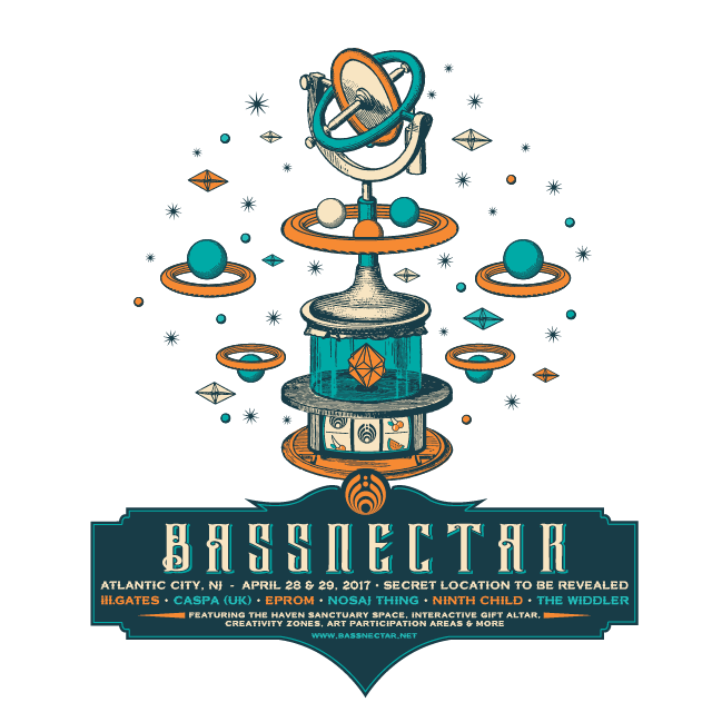 BASSNECTAR in Atlantic City 2017