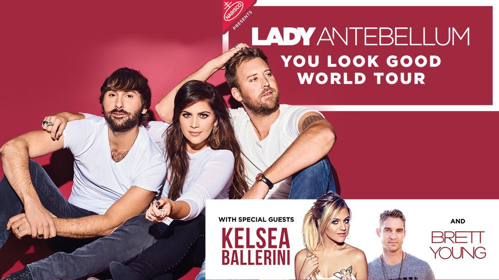 Lady Antebellum: You Look Good Tour 2017