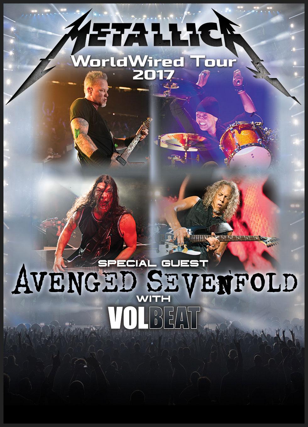 Metallica Worldwired Tour Enhanced Experiences