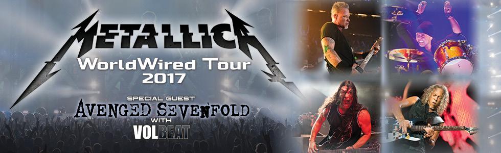 Metallica World Wired Tour