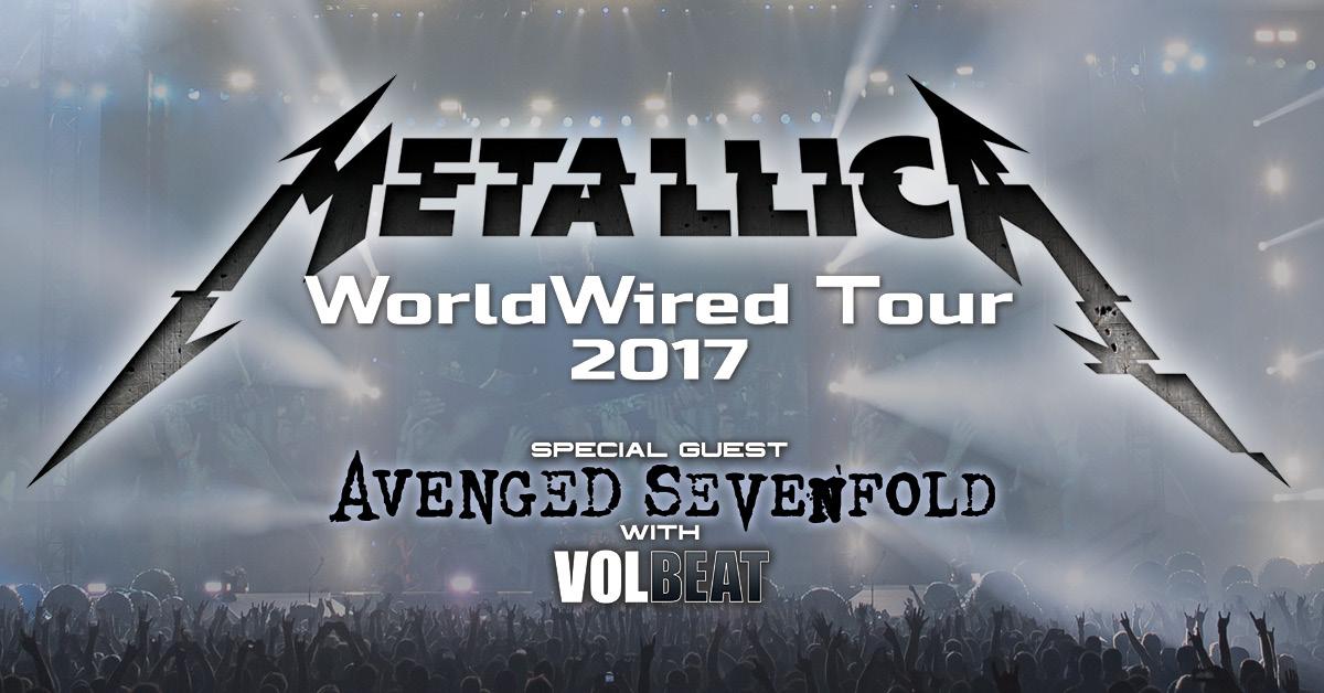Image result for metallica 2017 tour