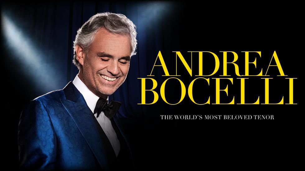 Andrea Bocelli 2017 Tour