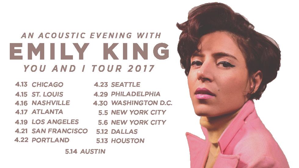 Emily King Spring Tour 2017