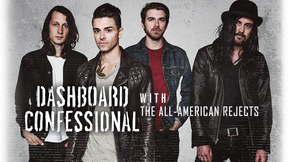 Dashboard Confessional 2017 Tour