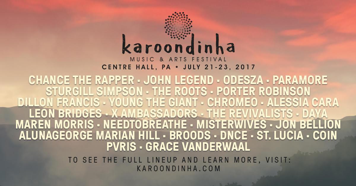 Karoondinha Festival To Feature Chance The Rapper, John Legend Cancelled