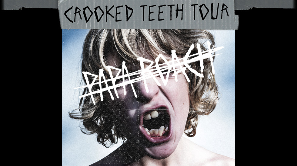 Papa Roach 'Crooked Teeth Tour' 2018