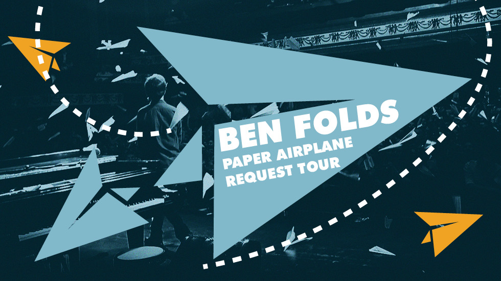 Ben Folds Fall Solo Tour 2017