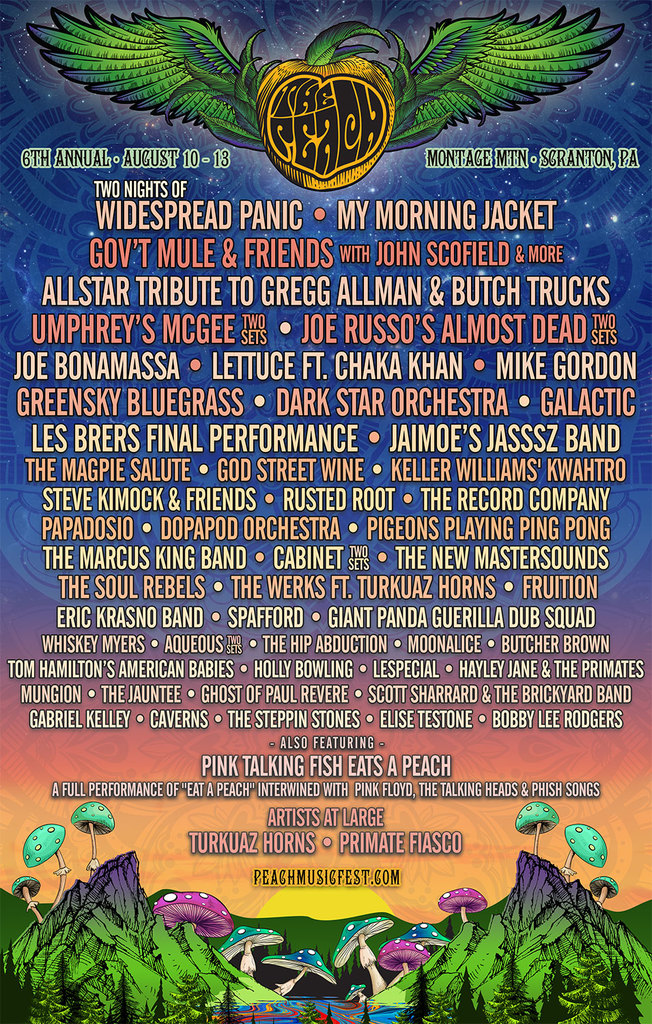 The Peach Music Festival 2017