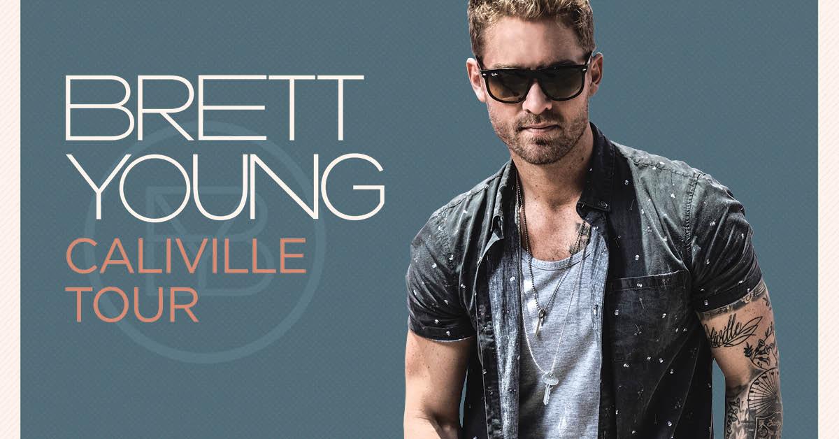 Brett Young Fall Tour 2017 Cid Entertainment