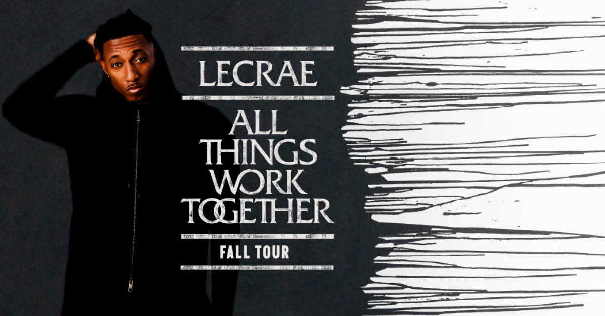 Lecrae All Things Work Together Tour December