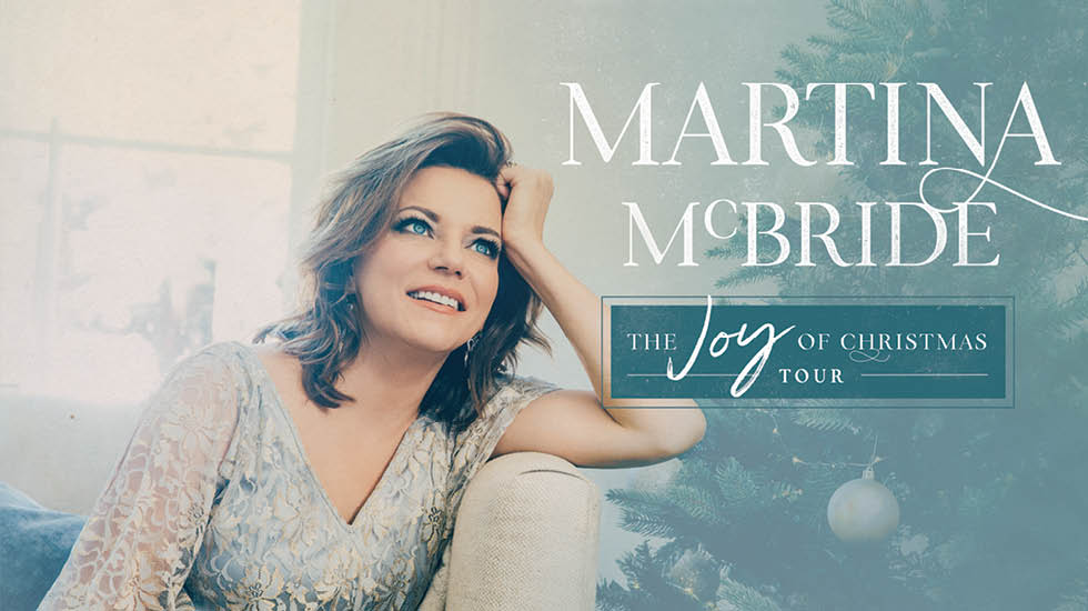 Martina McBride The Joy of Christmas Tour 2017 - CID Entertainment