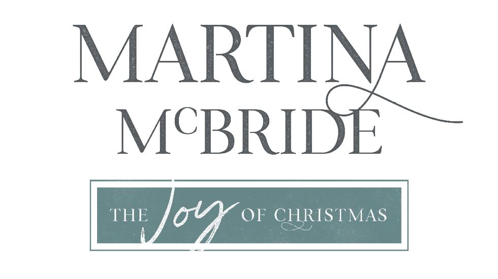 Martina McBride The Joy of Christmas Tour 2017