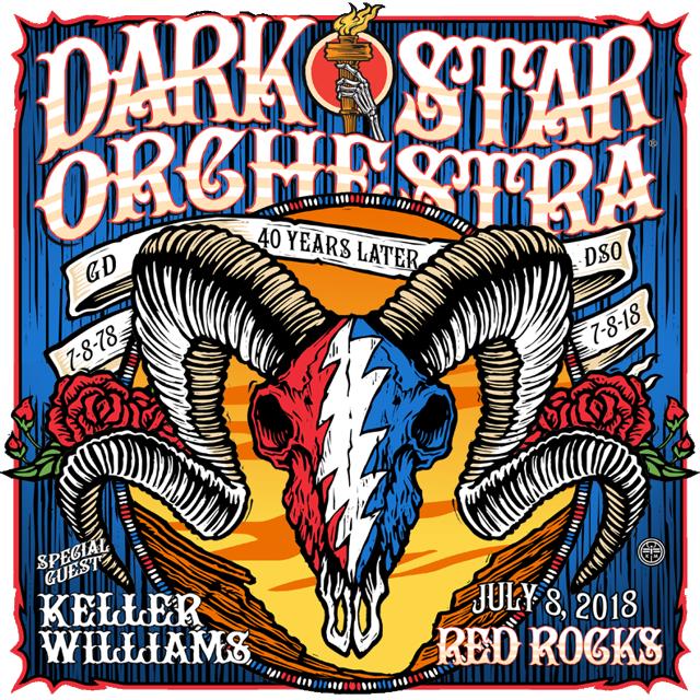 Dark Star Orchestra at Red Rocks 2018