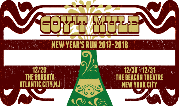 Gov't Mule New Year's Eve 2017 – 2018