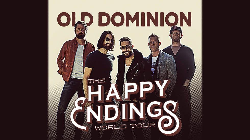 Old Dominion Tour 2018