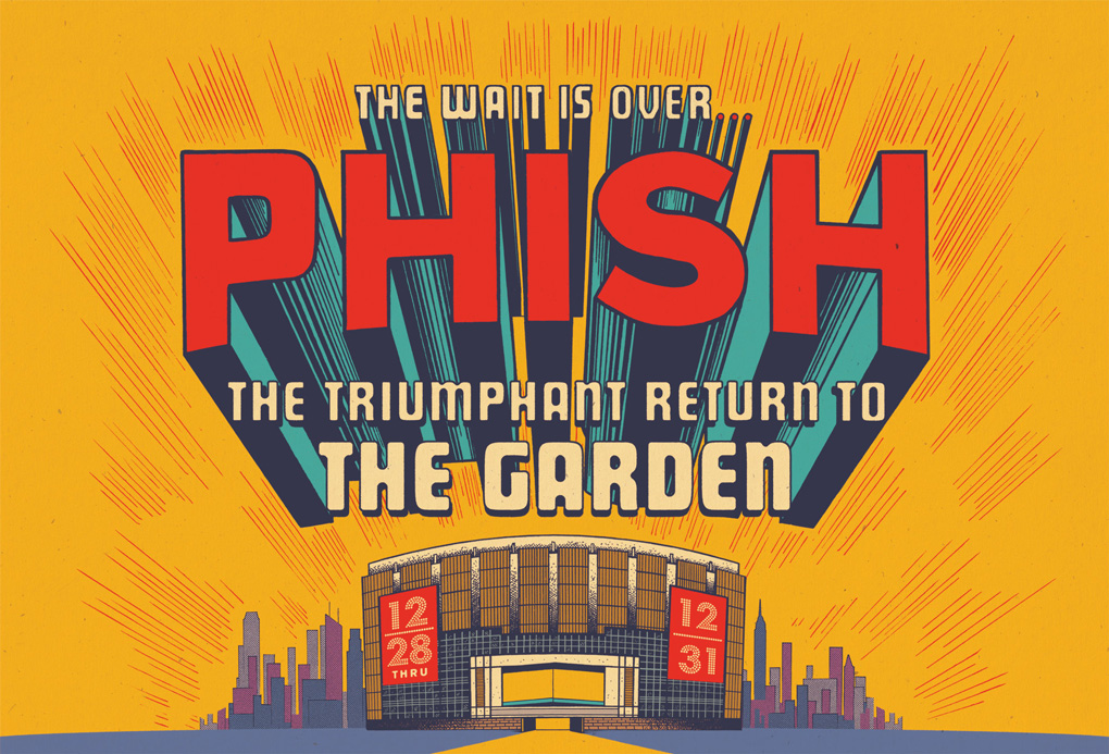 Phish New Year's Run 2017-2018
