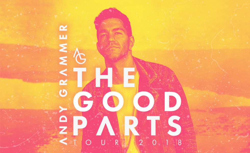 Andy Grammer 'The Good Parts' Tour 2018
