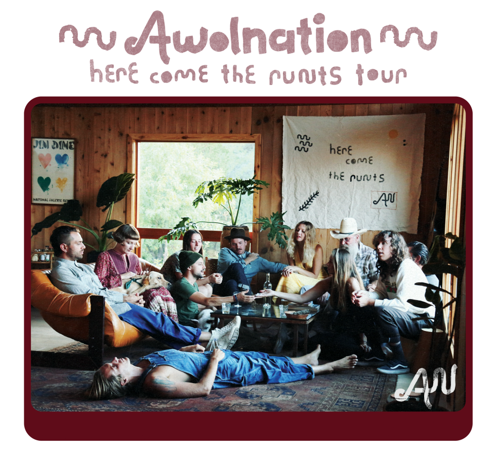 AWOLNATION Here Comes The Runts Tour 2018